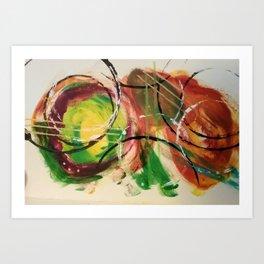 Circular Logic Art Print