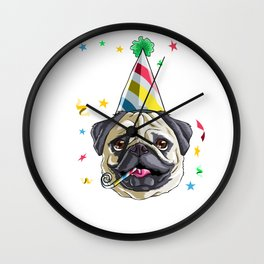 I'm 3 Lets Party Wall Clock