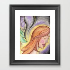 Translucent Life Framed Art Print