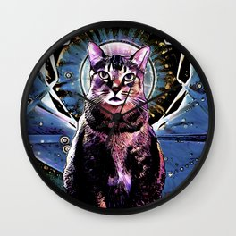 Mr Purrfect Wall Clock