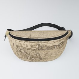 Arles: View from the Wheatfields Fanny Pack