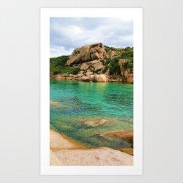 Sardgna  Art Print
