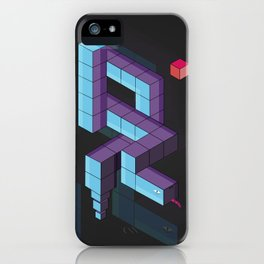 snake 3d  iPhone Case