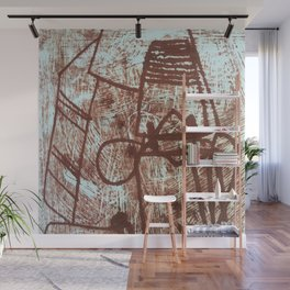 Etched Wall Mural