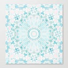 Fez Moroccan Tiles {4E} Canvas Print