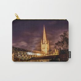 Norwich Cathedral Nightscape Carry-All Pouch