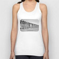baltimore Tank Tops featuring East Baltimore by Andrew Mangum