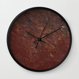 Dreams of Roasted Coffee Wall Clock