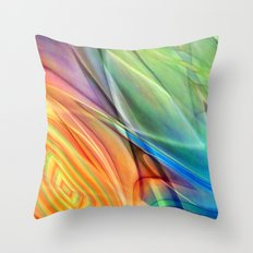 multicolored abstract no. 52 Throw Pillow