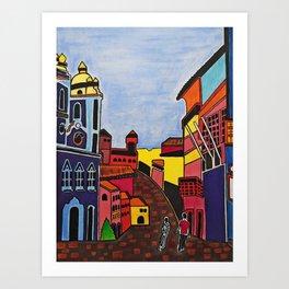 SALVADOR DO MEU OLHAR Art Print