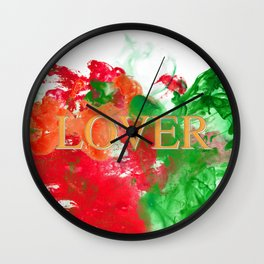 Lover CINEMASCOPE Wall Clock