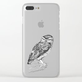 Little  owl Clear iPhone Case