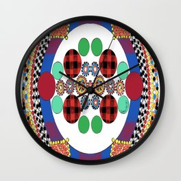 Masai Inspired Wall Clock
