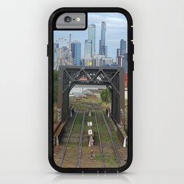 Melbourne cityscape iPhone Case