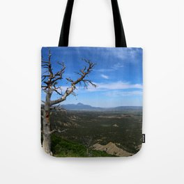 Overlooking The Valley Tote Bag