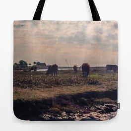 Grazing Fields Tote Bag
