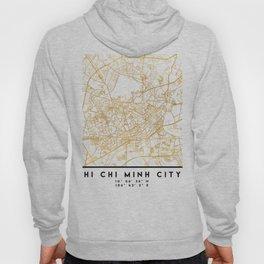 HI CHI MINH CITY STREET MAP ART Hoody