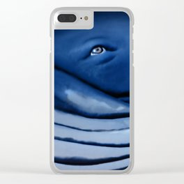 blue giant of the ocean Clear iPhone Case