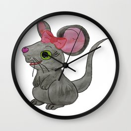 The Cute Little Mouse Wall Clock