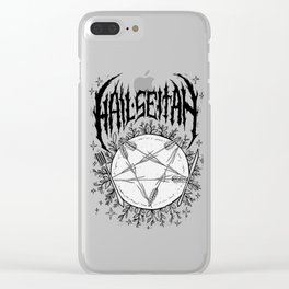 Hail Seitan Clear iPhone Case