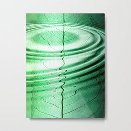 Green Dimentions Metal Print