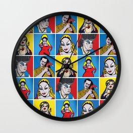 Filthiest Collection | Pop Art Wall Clock