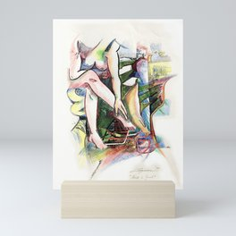 Nude is Good Mini Art Print