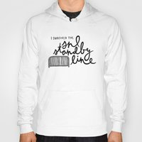 snl Hoodies featuring SNL Standby by Liana Spiro