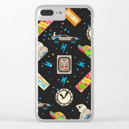 Future Pattern Clear iPhone Case