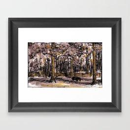 Familiar Places Framed Art Print