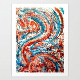 Cinnabar Art Print
