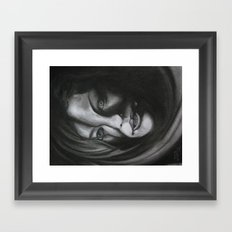 What Have You Done To Me? Framed Art Print