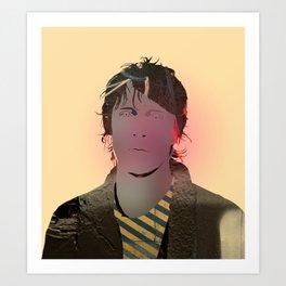 J Spaceman Portrait 04 Art Print