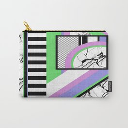 AMPS Deux - Abstract, Marble, Pastel, Stripes Carry-All Pouch