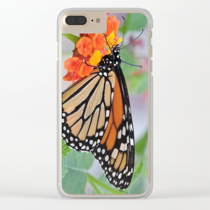 The Monarch Has An Angle Clear iPhone Case