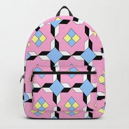 symetric patterns 64 -mandala,geometric,rosace,harmony,star,symmetry Backpack
