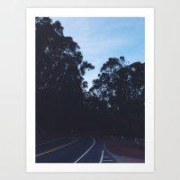 Somewhere Sausalito. Art Print