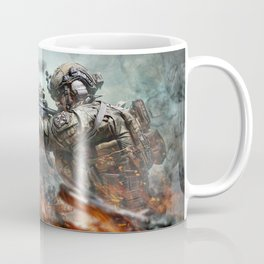 US Marines Devil-Dogs are marching on Coffee Mug