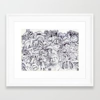 waldo Framed Art Prints featuring Where's Waldo? by LocalMadMAn
