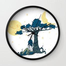 Wonder Girl Fantasy Art Wall Clock