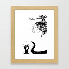 Weird Framed Art Print