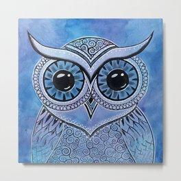 Owl 156 Metal Print