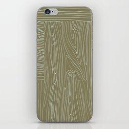 Woodgrain iPhone Skin