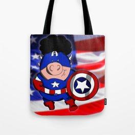 Cap'n 'Murica Tote Bag