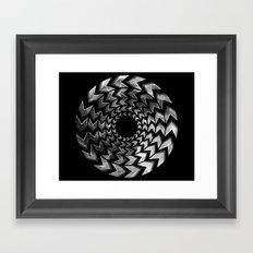 Lunar Illusion Framed Art Print
