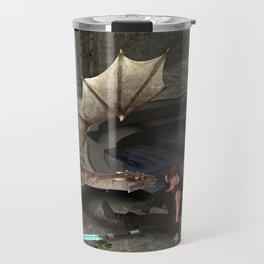 Dragon with his companion Travel Mug