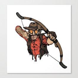 RED Huntsman Sniper Canvas Print