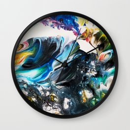 Wave of Change Wall Clock