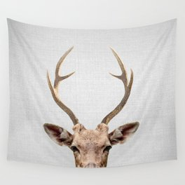 Deer - Colorful Wall Tapestry