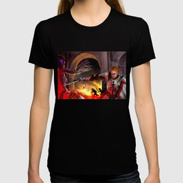 Dragon Age - Cullen - Tower in Flames T-shirt